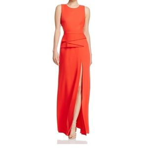 BCBG MAXAZRIA Red long dress